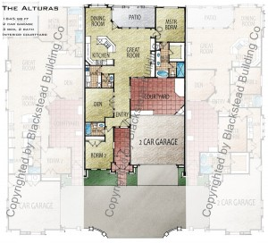 Alturas Floor Plan Copyrighted