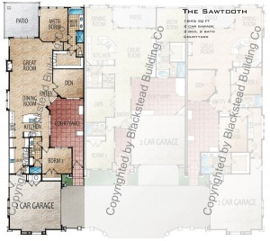 Sawtooth Floor Plan Copyrighted