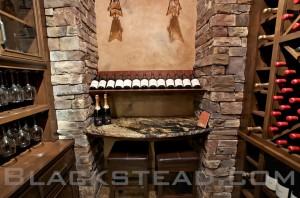 Silver Oak Wine Cellar