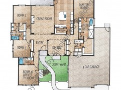 Cordova Floor Plan copyrighted