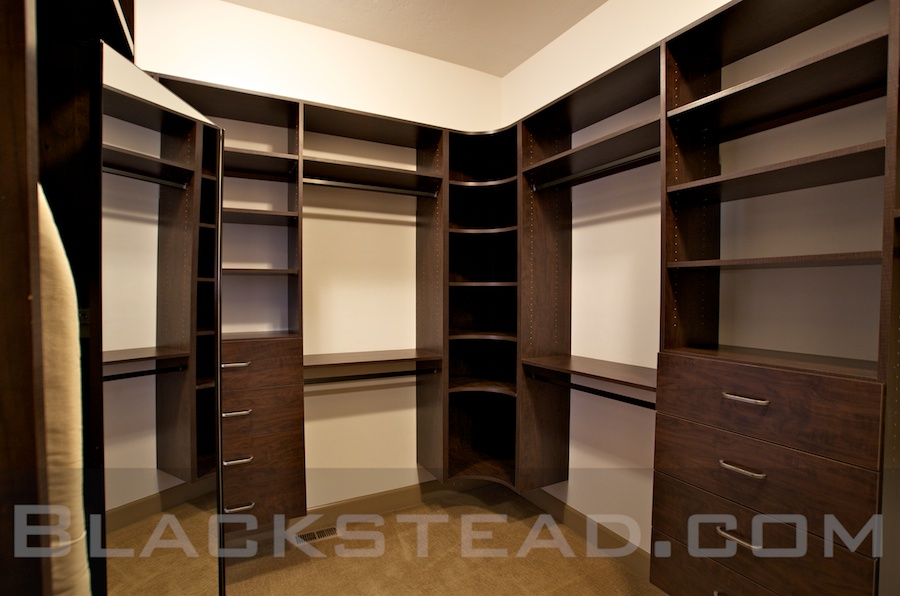 Master Closet Blackstead Building Co