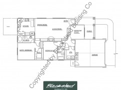 Tamarack Floor Plan copyrighted