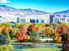 City of Boise is the City of Trees!  Love the colors of the fall.