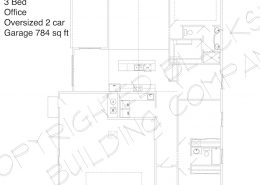 floor plan Pinewood 2 car